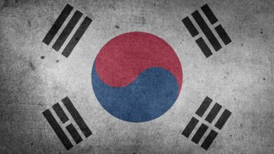 Juna Koreja - zastava
